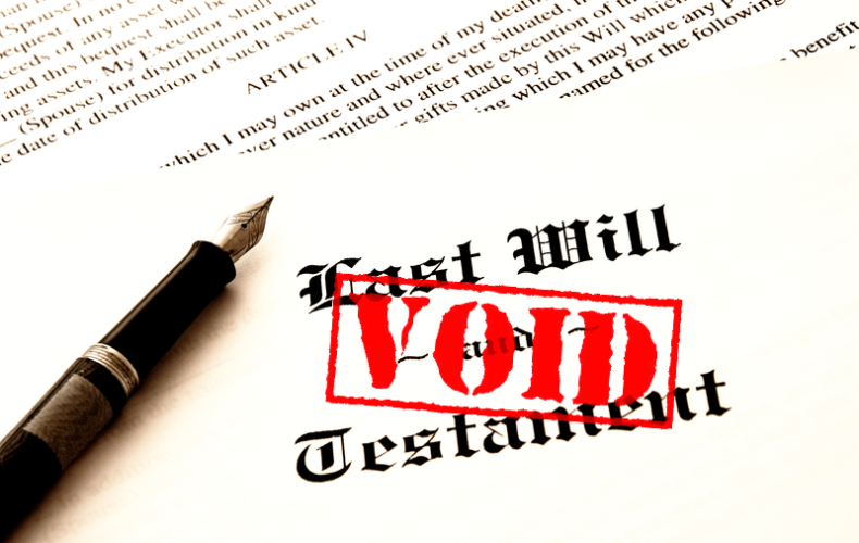How Getting Divorced Affects Your Will