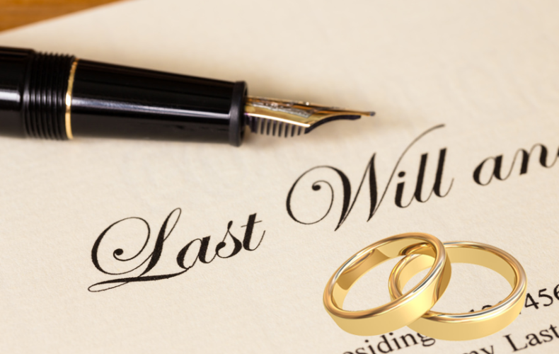 How Getting Married Affects Your Will